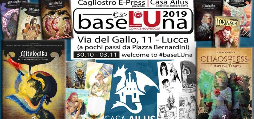 A Lucca Comics 2019, con Casa Ailus